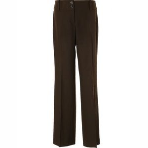 Ann Taylor Margo Brown Dress Pants Size 8 Trousers
